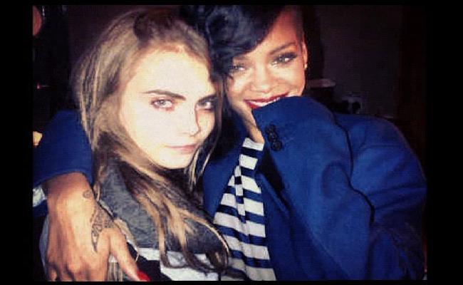 © Cara Delevingne et Rihanna via Instagram